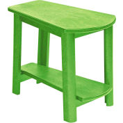 "Generations Tapered Style Accent Table, Kiwi Lime, 29""L x 18-1/2""W x 19""H"