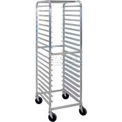 Cres-Cor, Angle Ledge Knock Down Utility Rack (Assembled), 20 Tray Capacity - 275-70-1820-KDA