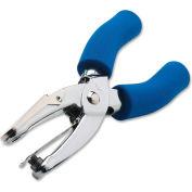 Carl® Medium-Duty 1-Hole Punch, 15 Sheet Capacity, Silver
