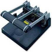 Carl® Heavy-Duty Three-Hole Punch, 150 Sheet Capacity, Gray