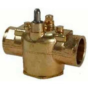 "Erie 1 1/4"" 3-Way General Purpose Sweat Valve Body, 7.5 CV VT3517"