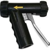 Sani-Lav® N1AB Mid-Sized Aluminum Spray Nozzle - Black