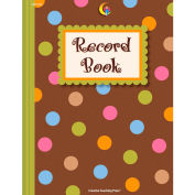 Creative Teaching Press Dots on Chocolate Record Book, 1/Ea