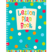 Creative Teaching Press Dots on Turquoise Lesson Plan Book, 1/Ea