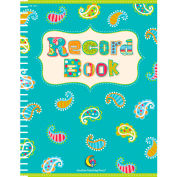 Creative Teaching Press Dots on Turquoise Record Book, 1/Ea