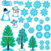 Creative Teaching Press Winter Essentials Bulletin Board Value Pack, 29 Pcs/Set