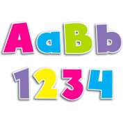 "Creative Teaching Press Bold Brights 4"" Designer Letters, 200 Pcs/Set"