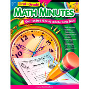 Creative Teaching Press Math Minutes, 1st Grade