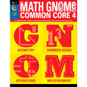 Creative Teaching Press Math GNOMe and Common Core 4 Grade 1