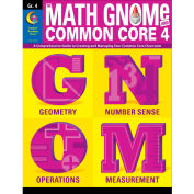 Creative Teaching Press Math GNOMe and Common Core 4 Grade 4