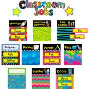 Creative Teaching Press Poppin' Patterns Classroom Jobs Mini Bulletin Board Set, 43 Pcs/Set