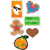Creative Teaching Press Holiday Stickers Variety Pack, 400/Pack