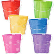 "Creative Teaching Press Buckets 10"" Jumbo Designer Cut-Outs, 36/Pack"