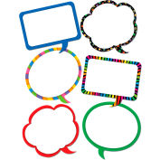 "Creative Teaching Press Speech Bubbles 10"" Jumbo Designer Cut-Outs, 36/Pack"