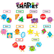 Creative Teaching Press Shapes Mini Bulletin Board Set, 30 Pcs Set