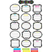 Creative Teaching Press BW Classroom Jobs Mini Bulletin Board Set, 52 Pcs/Set