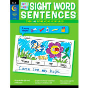 Creative Teaching Press Cut & Paste Sight Word Sentences, 1 Set