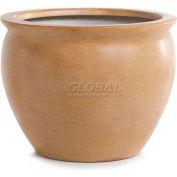 "OfficeScapesDirect 13"" Fiberglass Fish Bowl - Parchment"