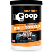 Goop® Pre-Moistened Towels & Wipes - 72 Ct. Orange Ruff Towels