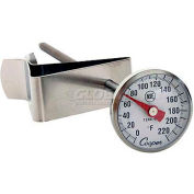 "Cooper-Atkins® Espresso Thermometer, 1236-70-1, With Clip, 1"" Dial, 5"" Stem, Nsf - Min Qty 13"