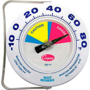 """Cooper-Atkins® Environmental Cooler/Freezer Thermometer, 255-14-1, 6"""" - Min Qty 5"""