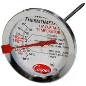 Cooper-Atkins® Meat Thermometer, 323-0-1, Nsf, Haccp - Min Qty 9