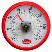 Cooper-Atkins® Cooler Thermometer, 535-0-8, With Magnetic Back - Min Qty 26
