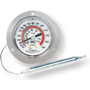 """Cooper-Atkins® Panel Thermometer, 6142-06-3, 2"""" Front Flange, Back Connect - Min Qty 3"""