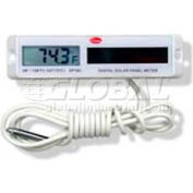 Cooper Rectangle Solar Panel Thermometer, Sp160-01-8, White Housing - Min Qty 3