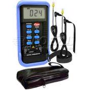 Cooper Thermocouple Temperature Instrument, TD2000-02, 3 Zone