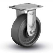 "Colson® 4 Series Rigid Plate Caster 4.04108.839.EN SS - Solid Elastomer 4"" Dia. 1000 Lb."