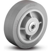 Colson® 2 Series Wheel 5.00005.459 WS - 5 x 2 Performa Rubber 1/2 Straight Roller Bearing