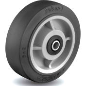 Colson® 2 Series Wheel 5.00006.459.2 WS - 6 x 2 Performa Rubber 1/2 Straight Roller Bearing