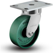 "Colson® 6 Series Swivel Plate Caster 6.08289.139 - Cast Iron 8"" Dia. 1500 Lb. Cap."