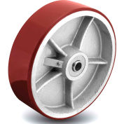 Colson® 2 Series Wheel 7.00008.979.7 WS - 8 x 3 Polyurethane on Cast Iron 3/4 Roller Bearing