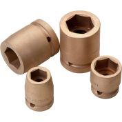 """C.S. Unitec EX1760-020UB 1-1/2"""" Drive Impact Socket, Copper Beryllium, 2"""""""