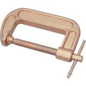 """C.S. Unitec EX901-100A C-Clamp, Aluminum Bronze, 4"""""""