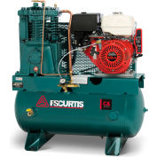FS-Curtis FCAHEE57H3X-AXL1XX, 13 HP, Stationary Gas Comp, 30 Gallon, 175 PSI, 22 CFM, Honda,Electric