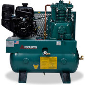 FS-Curtis FCAKDE57H3X-AXL1XX, 14 HP, Stationary Gas Comp, 30 Gal, 175 PSI, 22.5 CFM, Kohler,Electric