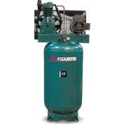 FS-Curtis FCT05C55V6X-A2L1XX, 5 HP, Two-Stage Comp., 60 Gallon, Vert., 175PSI, 15.9CFM, 1-Phase 230V