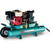 FS-Curtis FCTHEC47H9X-AXX1XX, 5.5 HP, Wheelbarrow Gas Comp, 9 Gal, 135 PSI, 11.8 CFM, Honda,Electric