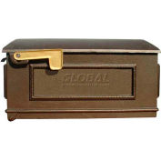 Lewiston Mailbox Only (No Post, Address Plates) in Bronze
