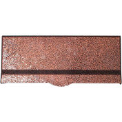"QualArc Mail Slot With Chute LM6-810-AC - Wall Mount 12-1/2""W x 10""D x 5""H Black/Antique Copper"