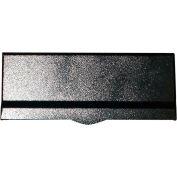 "QualArc Mail Slot With Chute LM6-810-BLK - Wall Mount 12-1/2""W x 10""D x 5""H Black"