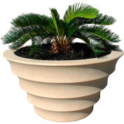 "Melbourne Outdoor Planter 34"", Sandstone"