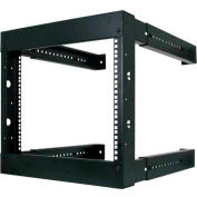 Vertical Cable 047-WFM-0826, 8U Wall Mount Open Fixed Rack