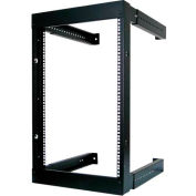 Vertical Cable, 047-WFM-1626, 16U Wall Mount Open Fixed Rack