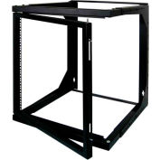 Vertical Cable, 047-WSM-1226, 12U Wall Mount Open Swing Out Rack