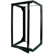 Vertical Cable, 047-WSM-2026, 20U Wall Mount Open Swing Out Rack