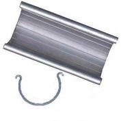 "Grip Clamp Fittings, 3""L, 1/2""Dia., Aluminum - Pkg Qty 25"